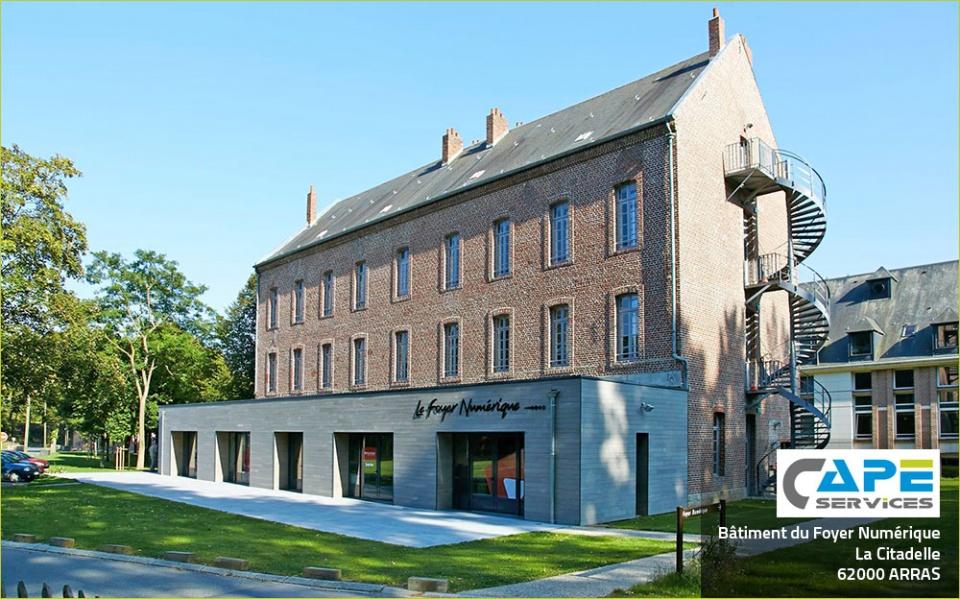 Bâtiment du Foyer Numérique, Arras